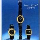 Jean Lassale Bouchet-Lassale SA Watch Company 1974 Swiss Ad Advert Publicite Suisse Montres