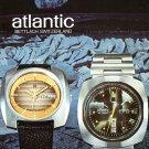 Atlantic Watch Company Bettlach Switzerland 1974 Swiss Ad Advert Publicite Suisse Montres