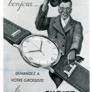 Vintage 1945 Subito A Thevenon Bienne Suisse Publicite Swiss Ad Advert Horlogerie Horology