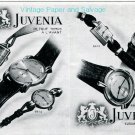 Vintage 1945 Juvenia Switzerland Original 1940s Swiss Ad Advert Publicite Suisse Montres