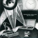 Vintage 1945 Chatons SA Le Locle Suisse Publicite Swiss Ad Advert Horlogerie Switzerland