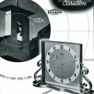 1945 Angelus CH Clock Co Switzerland Swiss Advert Publicite Suisse Schweiz