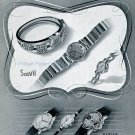 Vintage 1942 Solvil et Titus CH Watch Company Swiss Advert Publicite Suisse Montres
