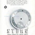 1942 Stern Freres CH Fabrique de Cadrans Geneve 1940s Swiss Advert Publicite Suisse Horlogerie