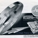 Vintage 1942 Sulem Ed Mathey Fils SA Lamineries Switzerland Swiss Advert Publicite Suisse CH