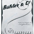 Vintage 1942 Bühler & Co La Chaux-de-Fonds CH Swiss Advert Publicite Suisse Horlogerie Buehler