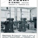 Vintage 1942 E Roulet Bureau Technique Pour L'Horlogerie Swiss Advert Publicite Suisse Horlogerie CH