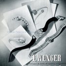 1942 E Wenger CH Fabrique de Boites de Montres Geneve Swiss Advert Publicite Suisse Horlogerie
