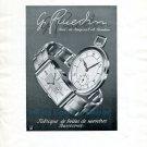 1942 Georges Ruedin SA Jacquat Fabrique de Boites de Montres Swiss Advert Publicite Suisse CH