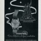 Vintage 1948 Precimax SA Watch Co Switzerland Swiss Advert Publicite Suisse CH