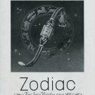 Vintage 1948 Zodiac Watch Co As Punctual As a Star Swiss Advert Publicite Suisse CH