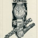 Vintage 1946 Leonidas Watch Co St-Imier Switzerland Swiss Advert Publicite Suisse CH