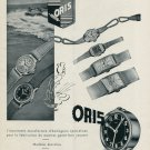 Vintage 1946 Oris Watch Company Holstein Switzerland Swiss Advert Publicite Suisse CH Oris.ch