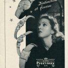Vintage 1946 Precimax Watch Co Neuchatel Swizterland Swiss Advert Publicite Suisse CH