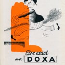 Vintage 1946 Doxa Watch Company Montres Doxa S.A. Switzerland Swiss Advert Publicite Suisse CH