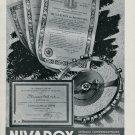 Vintage 1946 Nivarox S.A. fabr. de Spiraux St-Imier Switzerland Swiss Advert Publicite Suisse