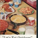 American Dairy Association Hormel Spam Coleman Outdoor Eating Recipes Picnic BBQ