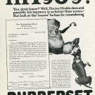 Vintage 1920 Christmas Ad Rubberset Shaving Brushes Newark NJ New Jersey Publicite Advertisement