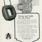 Vintage 1920 Acme Wire Co New Haven CT Connecticut Delco-Light Ad Publicite Advert