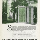 Vintage 1920 Christmas Ad Indestructo Trunk Makers National Veneer Products Co Indiana