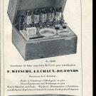 Vintage 1947 F Witschi Switzerland Swiss Print Ad Suisse Publicite Schweiz Horlogerie Horology