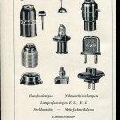 Vintage 1947 Fenolit SA Minusio Schweiz Swiss Print Ad Publicite Suisse Switzerland CH