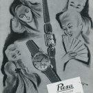 1947 Montres Prexa SA Prexa Watch Co Switzerland Swiss Advert Publicite Suisse CH