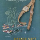 Vintage 1947 Rivo Watch Co Richard Vogt Switzerland Swiss Advert Publicite Suisse CH