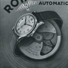 1947 Rotary Watch Co Fils Moise Dreyfuss Switzerland Swiss Advert Publicite Suisse Montres CH