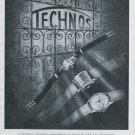 1947 Technos Watch Company Gunzinger Freres SA Switzerland Swiss Advert Publicite Suisse CH