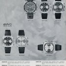 1971 Buttes Watch Co BWC Butex Switzerland Swiss Advert Publicite Suisse Montres CH