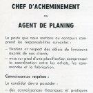1969 Zodiac SA Watch Company Switzerland Employment Advertisement Swiss Advert