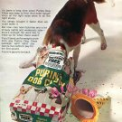 1970 Purina Dog Chow Pet Food Good to Be Back Two New Factories 1970 Ad Advert