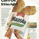1970 Mazola Corn Oil Liz Brown Caught Her Husband Polyunsaturating Ad Advert