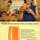 1970 Florida Orange Growers A Breakfast Without Orange Juice Is Like A Day Without Sunshine