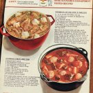 1964 Campbell's Soup How to Make Stews Stupendous with Campbells Soup Ad Advert