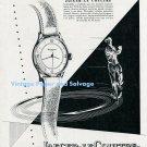 Vintage 1948 Jaeger-LeCoultre Automatic Watch Advert 1940s Swiss Ad Suisse Publicite Switzerland