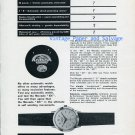 1956 Movado Automatic 431 Watch Advert Vintage 1950s Swiss Print Ad Publicite Suisse
