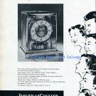 1956 Jaeger-LeCoultre Atmos Classic Clock Advert Vintage 1950s Swiss Print Ad Publicite Suisse