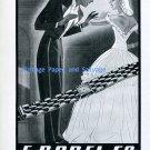 1945 Ernest Borel E Borel Co. Watch Company Switzerland Vintage 1940s Swiss Ad Publicite Suisse