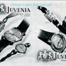 Vintage 1945 Juvenia Royal Watch Advert 1940s Swiss Print Ad Publicite Suisse Schweiz