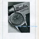 Vintage 1945 Mondia Paul Vermot & Co Watch Company Switzerland 1940s Swiss Ad Publicite Suisse