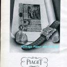 Vintage 1945 Georges Piaget & Cie La Cote-Aux-Fees Switzerland Piaget Watch Co Swiss Ad Suisse