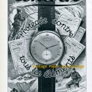 Vintage 1945 Cortebert Chronometre Watch Advert 1940s Swiss Print Ad Publicite Suisse