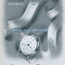 Vintage 1945 Jaeger-LeCoutre La Montre Calendrier Watch Advert 1940s Swiss Print Ad Publicite