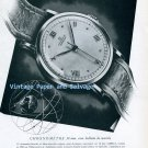 Vintage 1945 Omega Chronometre 30 mm Watch Advert 1940s Swiss Print Ad Publicite