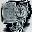 Vintage 1945 Leonidas Watch Factory St-Imier Switzerland Swiss Print Ad Suisse