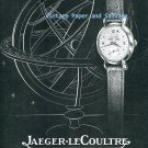 Vintage 1945 Jaeger-LeCoultre Horlogerie De Luxe Original 1940s Swiss Ad Suisse Switzerland