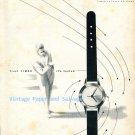Vintage 1952 Timor Watch Company La Chaux-de-Fonds Switzerland Original 1950s Swiss Ad Suisse