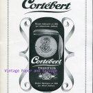 Cortebert Watch Company Albert Juillard Switzerland Original 1945 Swiss Ad Suisse